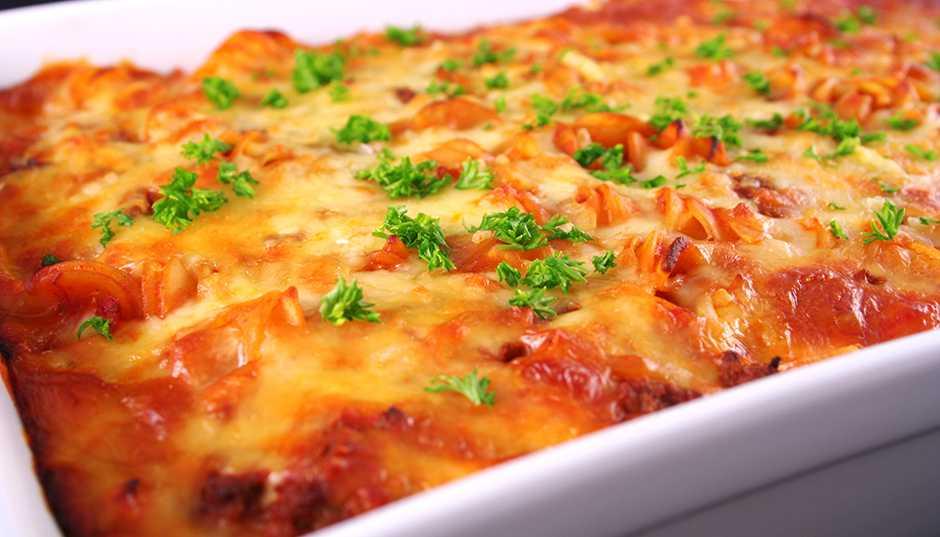 Recipe -- Baked Pasta