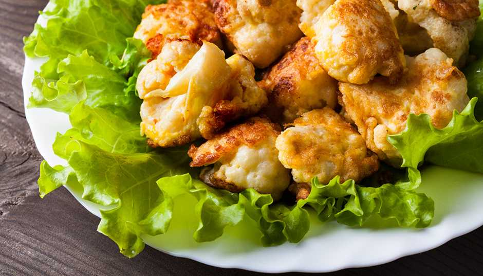 Recipe -- Cauliflower Pakoras