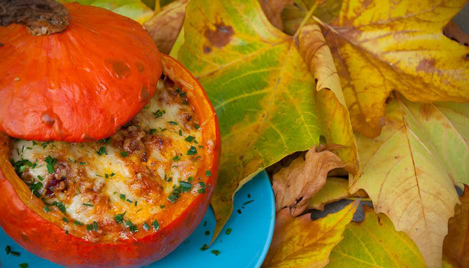 Recipe -- Festive Pumpkins