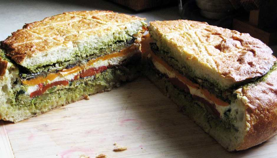 Recipe -- Mediterranean Layered Cob
