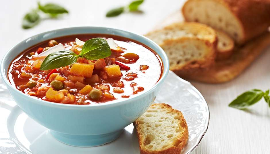 Recipe -- Minestrone Soup
