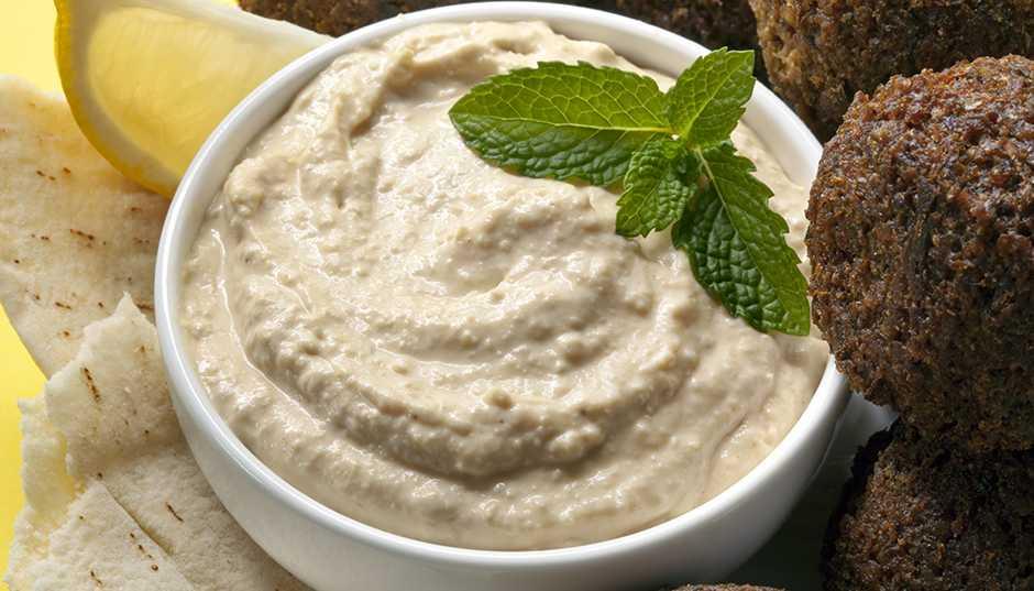 Recipe -- Minted Hummus