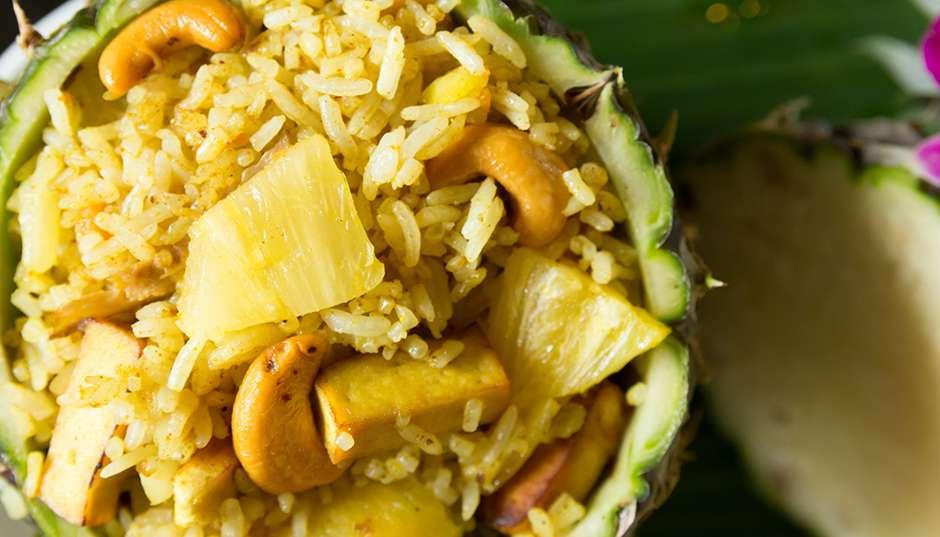 Recipe -- Jasmine Coconut Rice with Pineapple