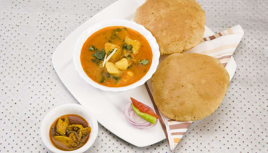 Recipe -- Poori Bread