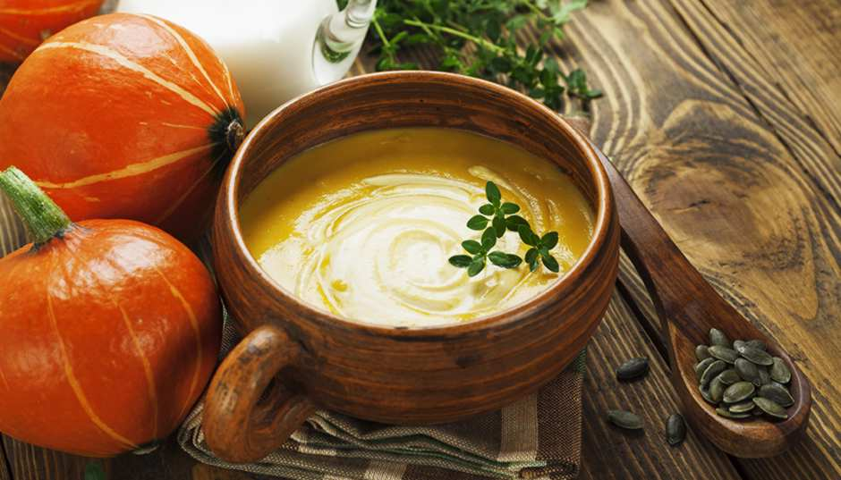 Recipe -- Quick & Easy Velvety Pumpkin Soup