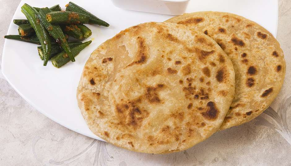 Recipe -- Stuffed Parathas