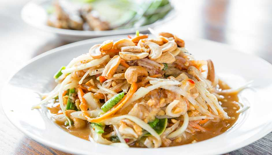 Recipe -- Vietnamese Green Papaya Salad