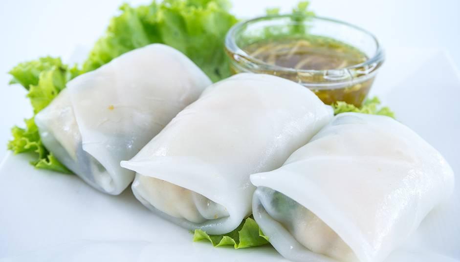 Recipe -- Vietnamese Style Rice Wraps
