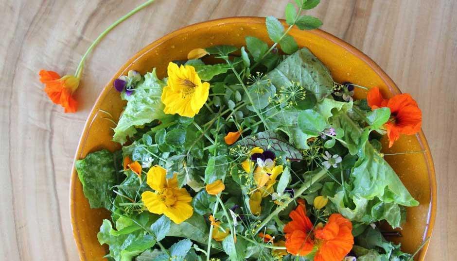Flower-Salad