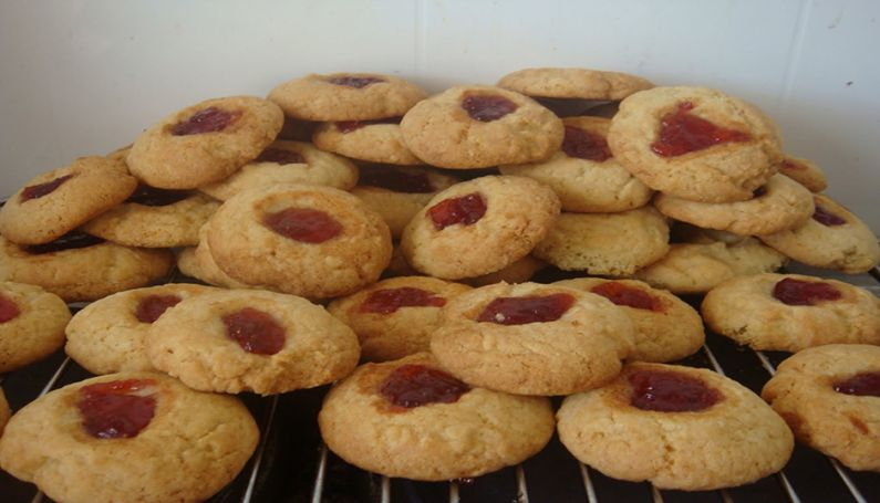 jam drops cookies biscuits vegetarian asmy australian school of meditation and yoga
