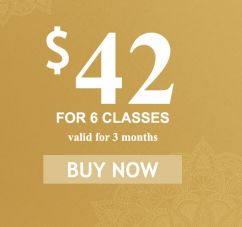 6 class intro pricing offer