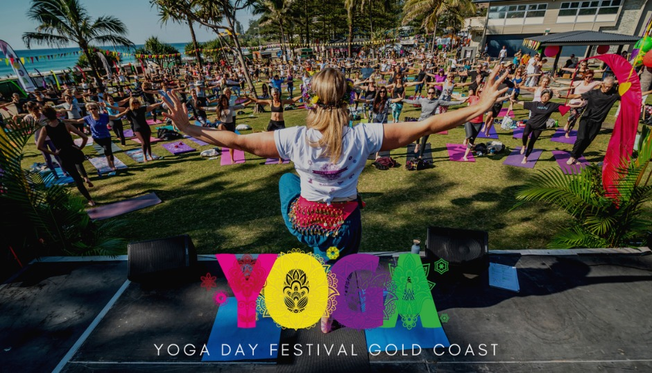 yoga day festival gold coast asmy free event united nationas international day of yoga celebration australia fun family friendly vegan vegetarian food workshops wisdom meditation asmy the mantra room asmy community sangha kids workshops music singing dance lifestyle holistic ayurveda fitness