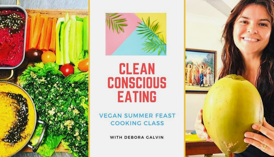 clean conscious eating vegan summer meals eating health wellness gluten free plant based vibrant flavourful workshop asmy gold coast australia mantra room vegetarian learn