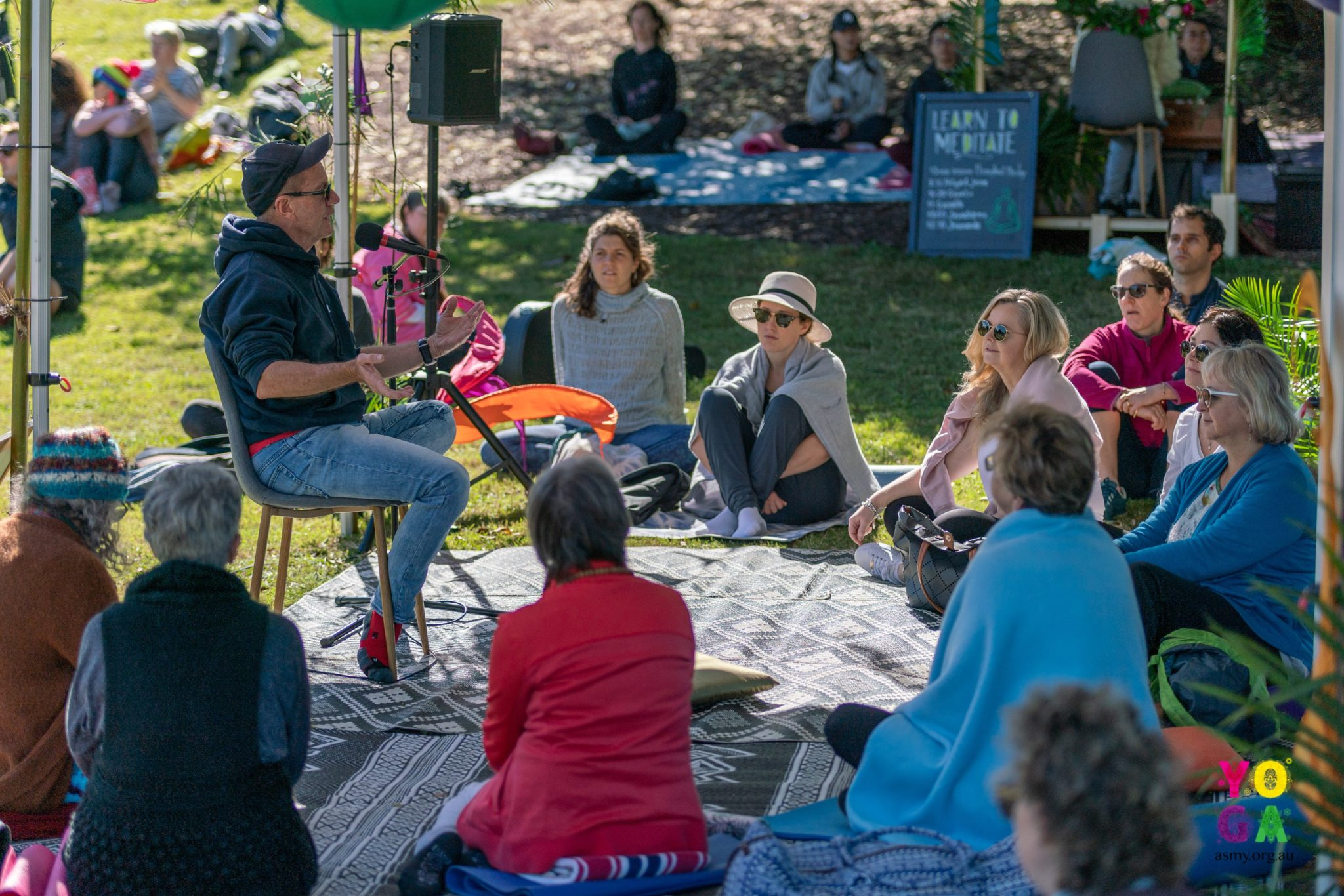 wisdom session wellbeing day festival